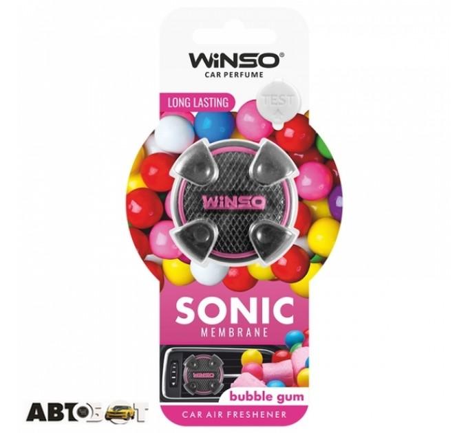 Ароматизатор Winso Sonic Bubble Gum 531080