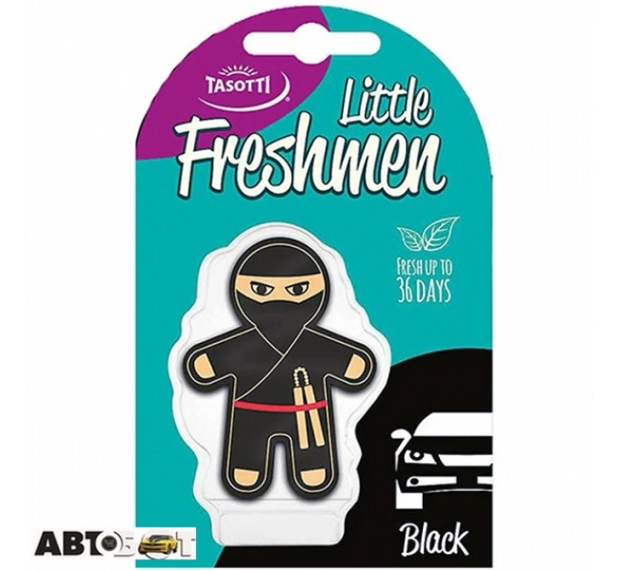 Ароматизатор TASOTTI Freshmen little Black