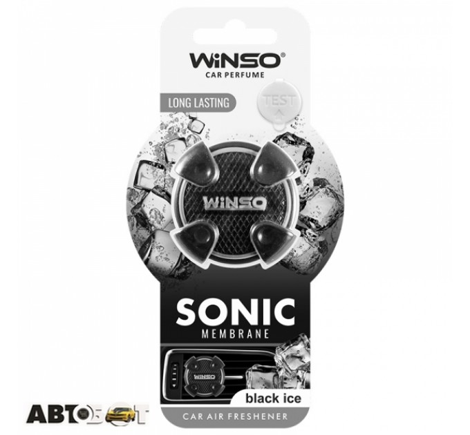 Ароматизатор Winso Sonic Black Ice 531120
