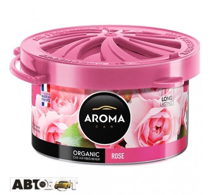 Ароматизатор Aroma Car Organic Rose 92614 40г