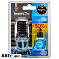 Ароматизатор Aroma Car Supreme DUO Slim AQUA 92253 2x7мл