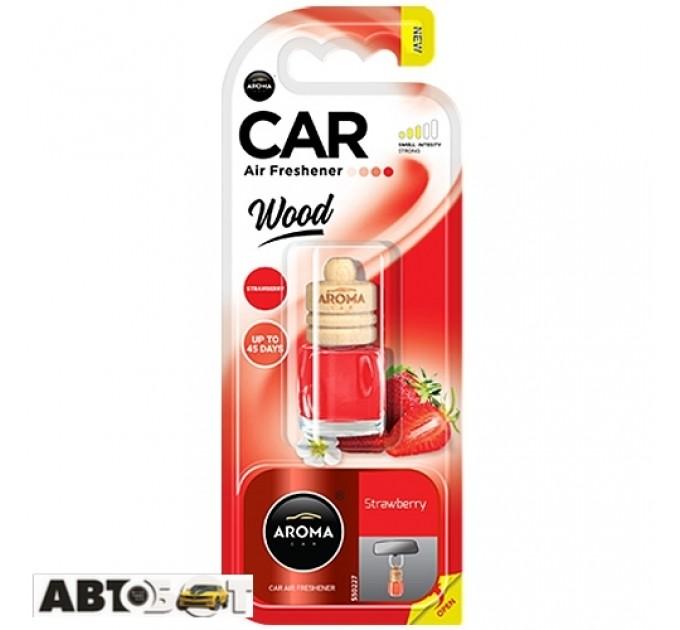 Ароматизатор Aroma Car Wood STRAWBERRY 92795 6мл