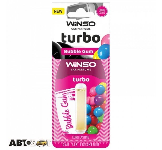 Ароматизатор Winso Turbo Bubble Gum 532660