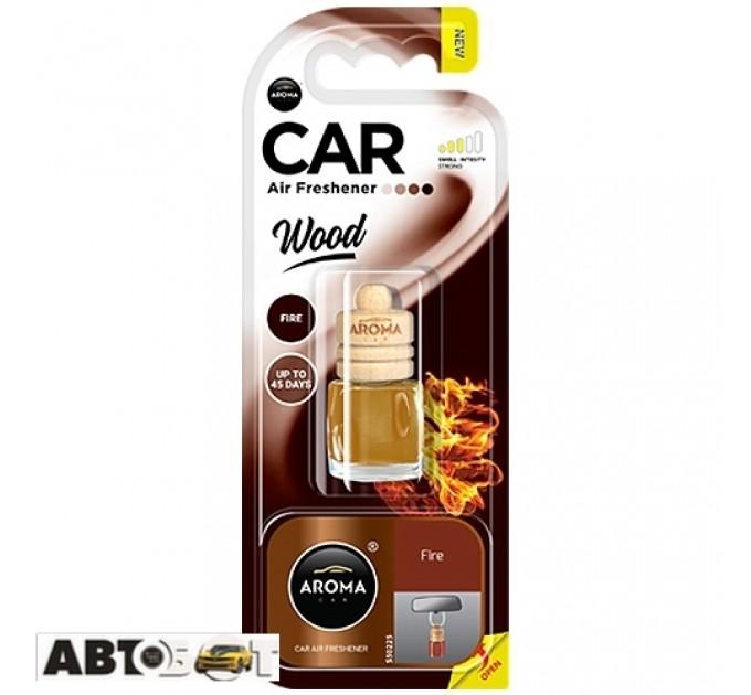 Ароматизатор Aroma Car Wood FIRE 92037 6мл