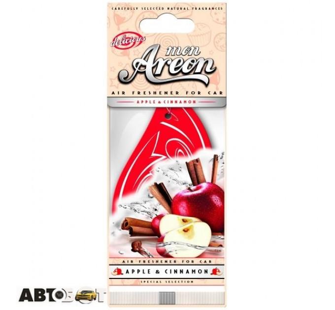 Ароматизатор Areon сухой листик Mon Delicious Apple & Cinnamon