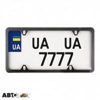 Рамка номерного знака CarLife USA TYPE NH470