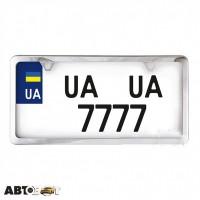 Рамка номерного знака CarLife USA TYPE NH460
