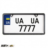 Рамка номерного знака CarLife USA TYPE NH480