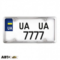 Рамка номерного знака CarLife USA TYPE NH450